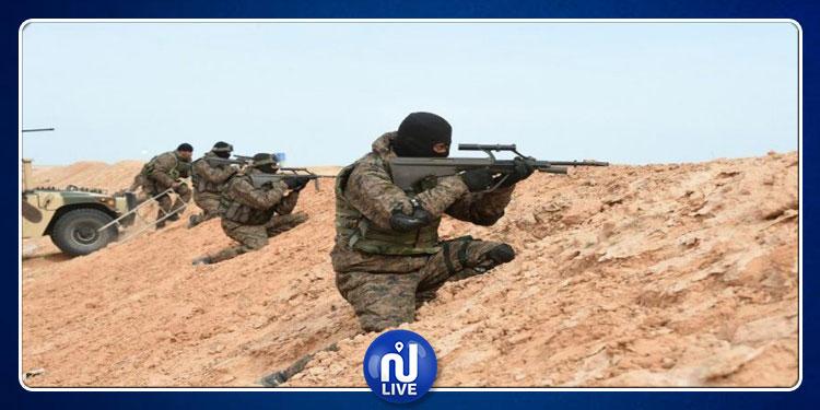 المنطقة الحدودية العازلة: مسلّحون يطلقون النار على تشكيلة عسكرية