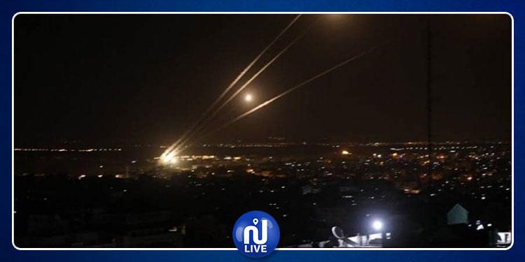 سرايا القدس تستهدف تل أبيب برشقة من الصواريخ