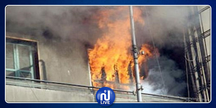 اندلاع حريق في عمارة بالحي الأولمبي
