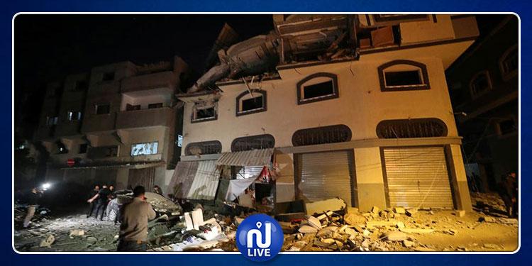 استهشاد 10 فلسطينيين في غزة