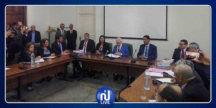 توزيع المقاعد في  اللجنة الخاصة بالنظر في قانون المالية