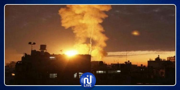 دمشق: استشهاد مدنيين بصواريخ  جيش الاحتلال الصهيوني