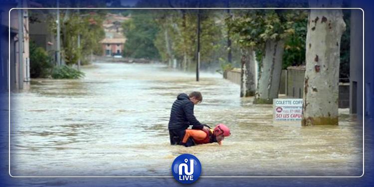 سيول الأمطار تودي بحياة شخصين في فرنسا