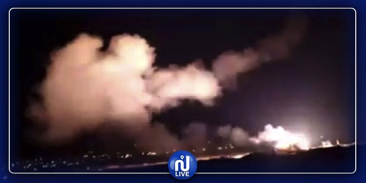 إسرائيل تقصف سوريا