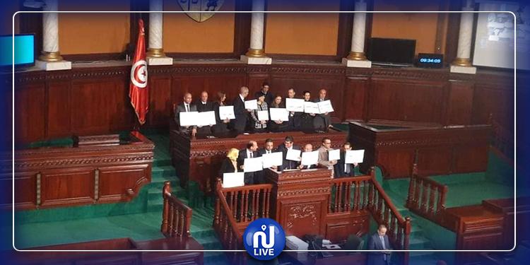 تواصل المساعي من أجل حل الخلاف بين كتلتي النهضة والدستوري الحر