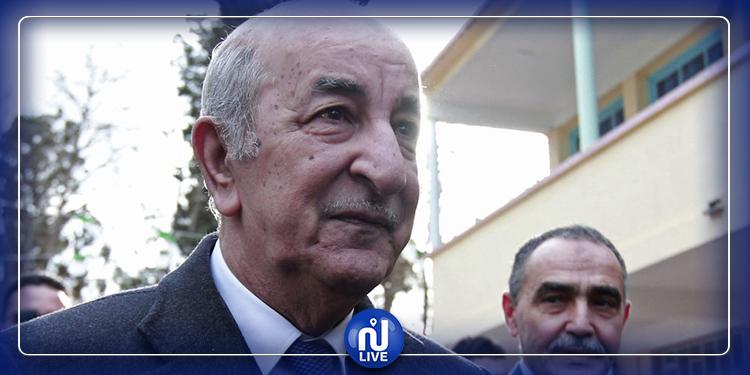 الرئيس الجزائري المنتخب يوجه رسالة للشعب