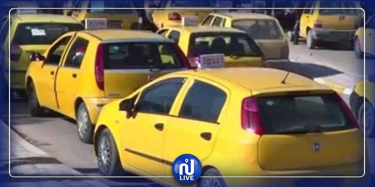 مجاز الباب: أصحاب التاكسي الفردي يحتجون