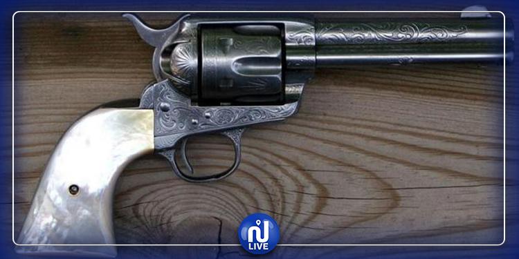 جندوبة: حجز مسدس وذخيرة بحوزة كهل