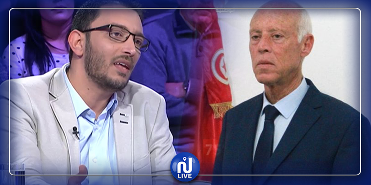 ياسين العياري لقيس سعيد: أنت تدفعني لأن أكون تحت رحمة سفير فرنسا