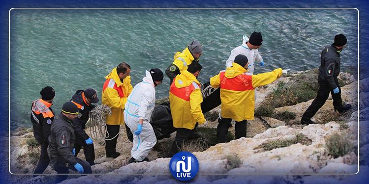 انتشال 18 جثة قبالة السواحل الإيطالية