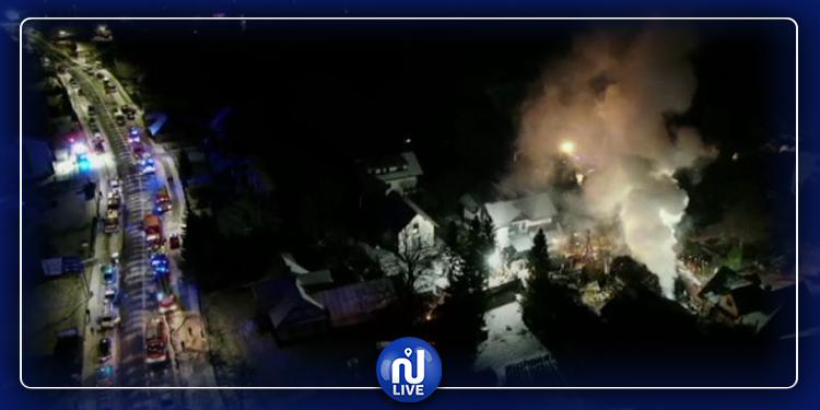 انفجار في بولندا ومقتل 4 أشخاص