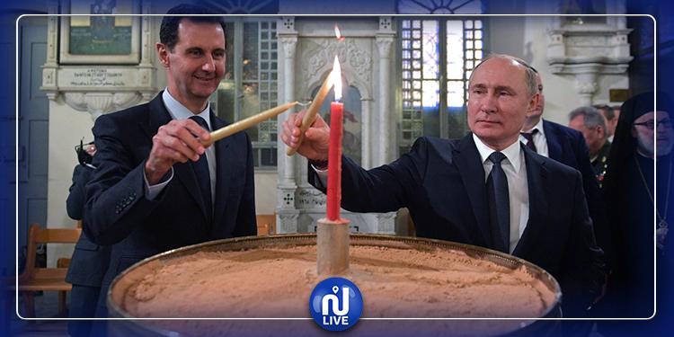فلاديمير بوتين يقترح على بشار الأسد دعوة ترامب إلى دمشق...كيف كان الردّ!