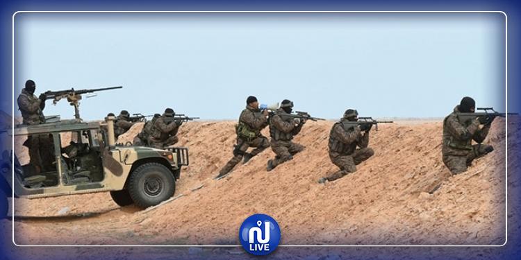 رصد تحركات بالمنطقة العسكرية العازلة برمادة وإصابة متسلل بطلق ناري