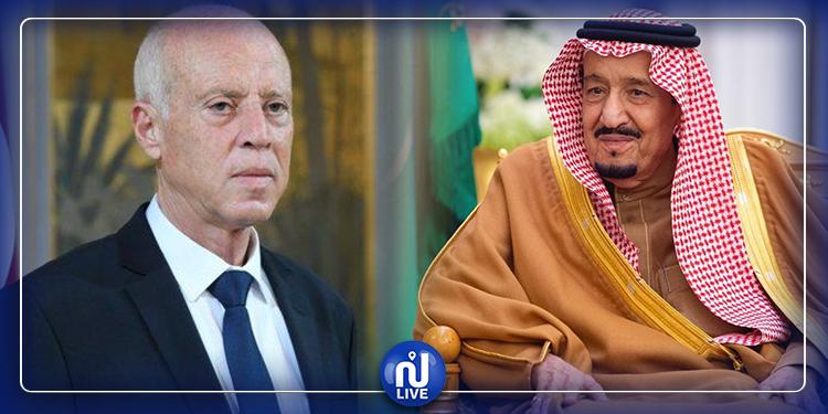 الملك سلمان يوجّه دعوة رسمية لقيس سعيد لزيارة السعودية