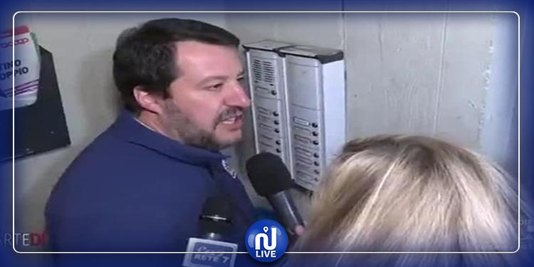 سالفيني يرن جرس منزل تونسي ويشّهر بصاحبه: هل أنت تاجر مخدرات؟