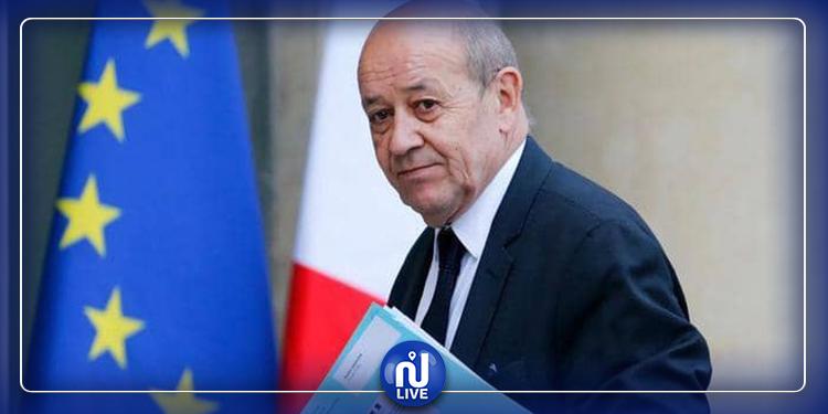 وزير خارجية فرنسا يؤدي زيارة رسمية إلى تونس