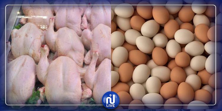 تراجع أسعار البيض ودجاج اللحم