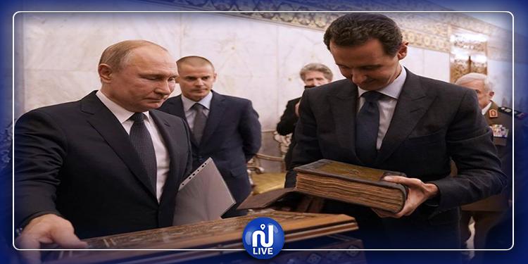 فلاديمير بوتين يكشف عن نسخة فريدة من القرآن