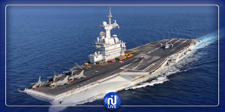 فرنسا تعلن إرسال حاملة الطائرات  ''شارل ديغول'' إلى الشرق  الأوسط