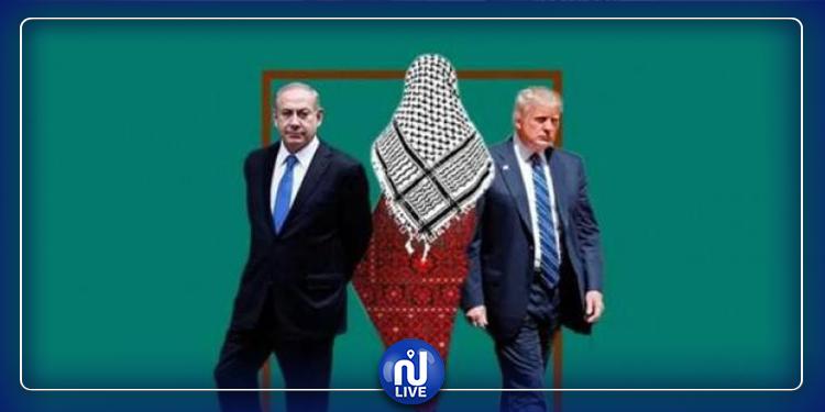 الخريطة الجديدة لفلسطين وفق ''صفقة القرن''(صور)