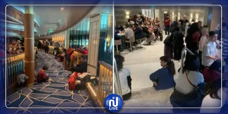 Coronavirus-Italie: 7 000 personnes bloquées sur un navire de croisière