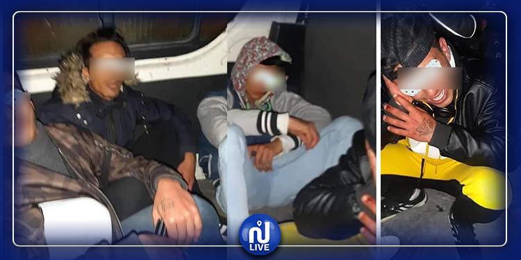 القبض على منحرفين نفّذوا ''براكاج'' لمواطنين على متن قطار الـTGM