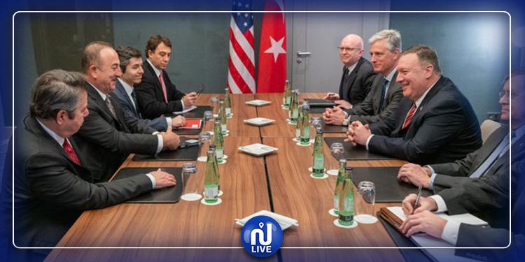 اتفاق تركي أمريكي على ضرورة وقف النار في ليبيا