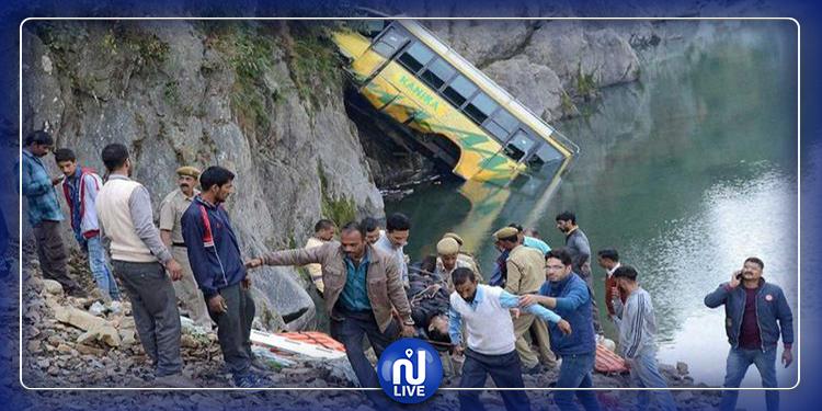 في طريقهم إلى زفاف..انقلاب حافلة يخلف 24 قتيلا في الهند
