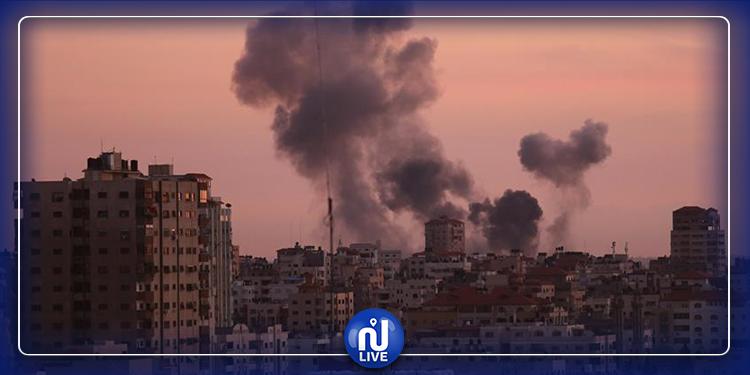 إصابة 4 فلسطينيين في غارات جوية على غزة