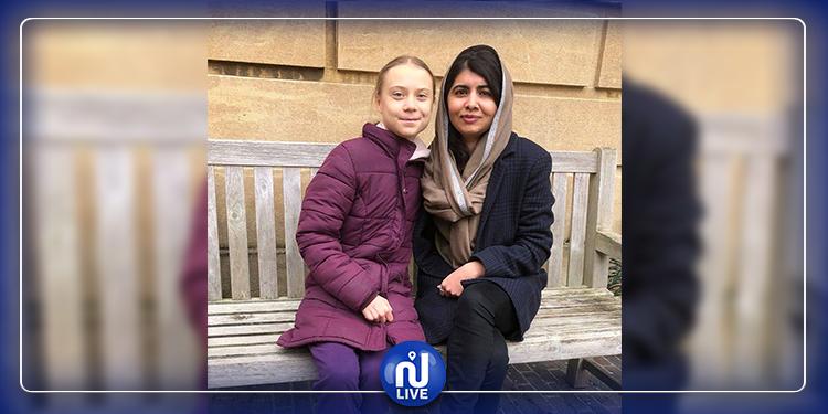 Les militantes Greta Thunberg et Malala Yousafzai se sont rencontrées pour la 1ère fois