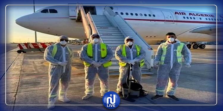 التونسيون الذين تم إجلاؤهم من الصين يصلون عبر طائرة عسكرية