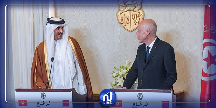 أمير قطر يبدي استعداد بلاده للمساهمة في تمويل مشروع المدينة الصحية بالقيروان