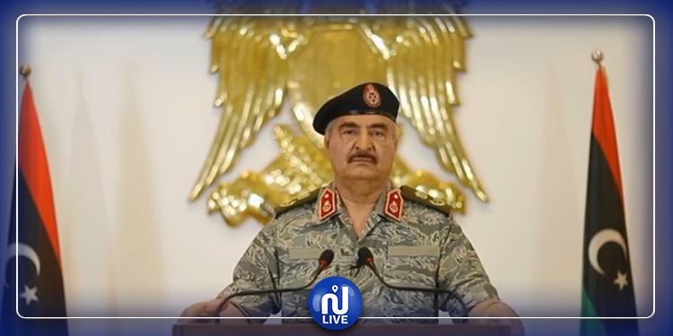 خليفة حفتر: لا رجوع عن تحرير طرابلس ووقف إطلاق النار