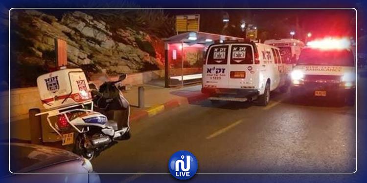 القدس: إصابة 14 جنديا إسرائيليا بعملية دهس