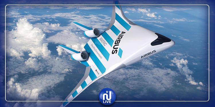 Airbus dévoile une conception futuriste d'avions à ailes mixtes
