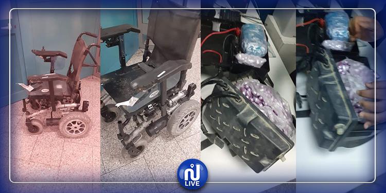 مطار قرطاج: حجز 800 ''تمرة زطلة'' بحوزة شخص من ذوي الإحتياجات الخصوصية
