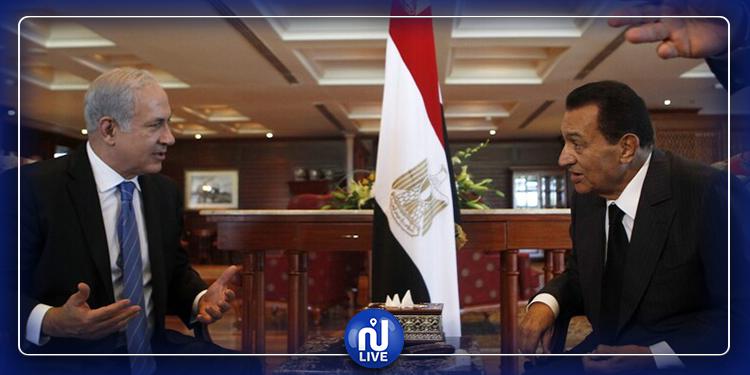 نتنياهو: أعبر عن حزني البالغ على رحيل محمد حسني مبارك