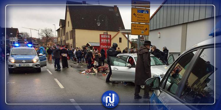 ألمانيا: 30 مصابا في حادث الدهس بـ ''فولكمارسن''