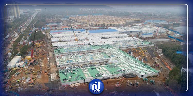 الصين تشرع في بناء مستشفى ثان لمرضى كورونا في أقل من أسبوع