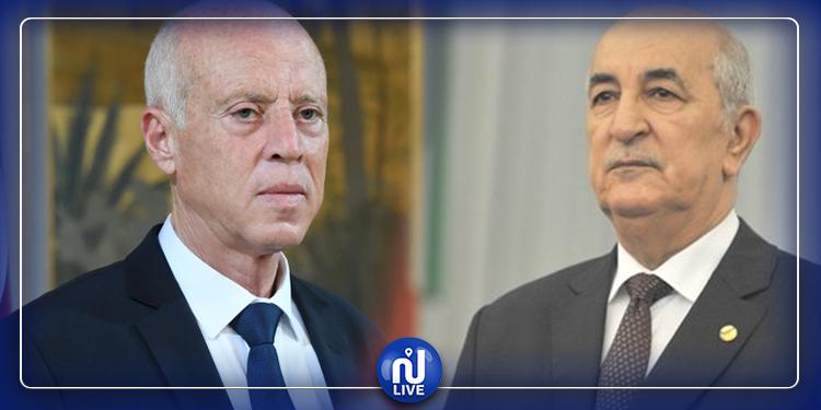 قيس سعيّد يؤدي اليوم زيارة رسمية إلى الجزائر