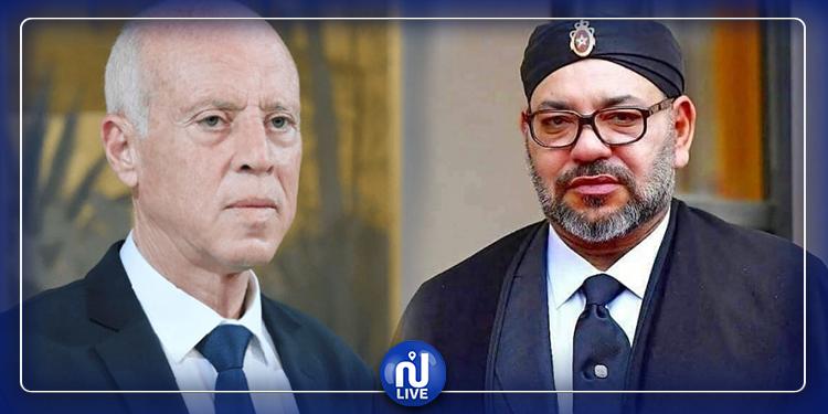Entretien téléphonique entre Kaïs Saïed et le Roi Mohamed VI