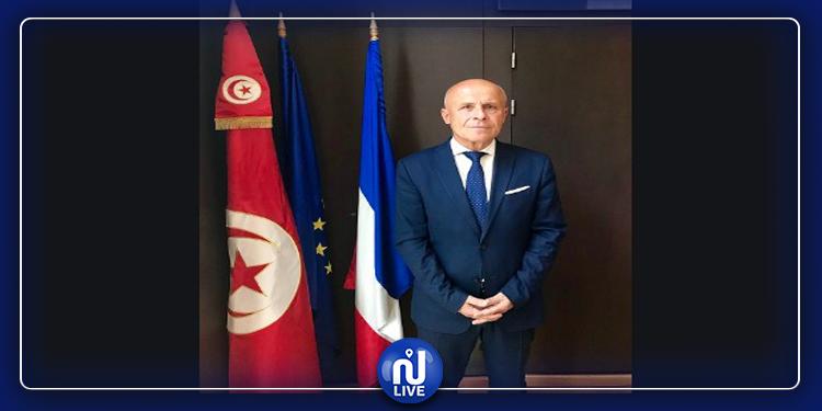 Olivier POIVRE D'ARVOR s'adresse à la communauté française en Tunisie