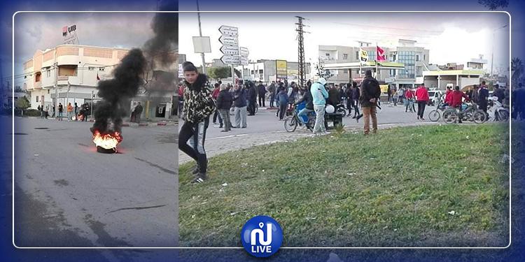 بنبلة: حالة احتقان وقطع الطريق إثر مباراة كرة قدم