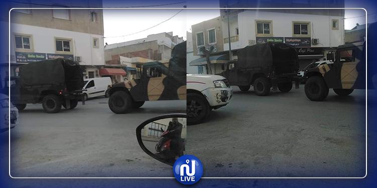 انتشار الجيش الوطني في مختلف مناطق وشوارع الجمهورية