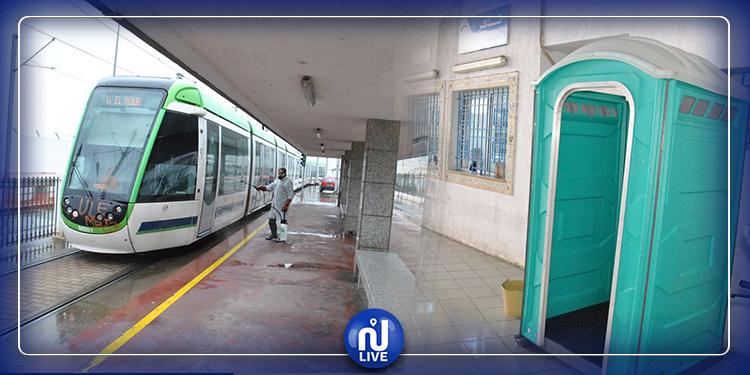العاصمة: تركيز وحدات صحية وتطهير وسائل النقل (صور)
