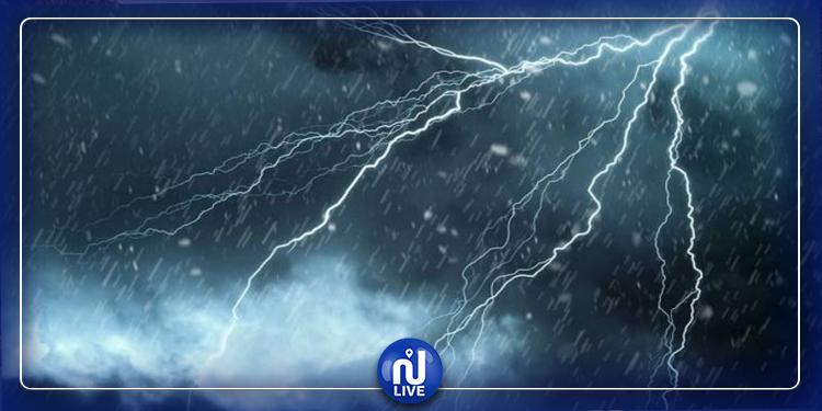 الإثنين والثلاثاء: أمطار متفرقة ومؤقتا رعدية بهذه المناطق