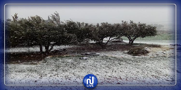 Il neige à Makthar !