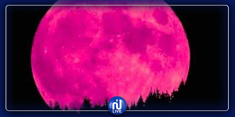 Ce soir, rendez-vous avec la pleine lune rose
