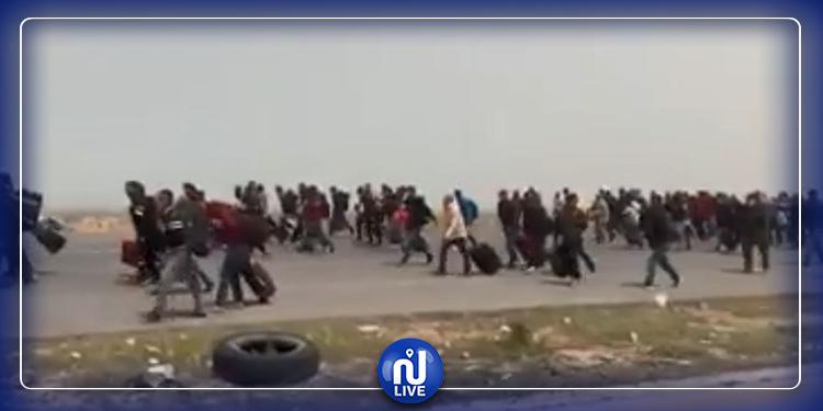 راس جدير: إيقاف مواطن شتم رئيس الجمهورية والدولة التونسية