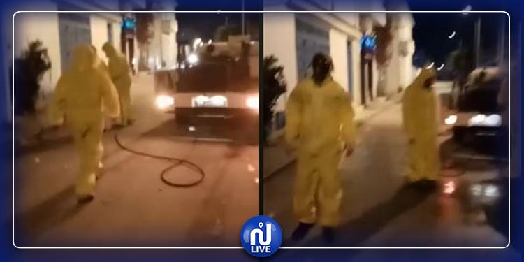 الكرم: حالة إغماء في الشارع وسيارة الإسعاف تتدخل (فيديو)